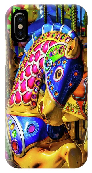 Carousel iPhone Case - Fantasy Carrousel Ride by Garry Gay
