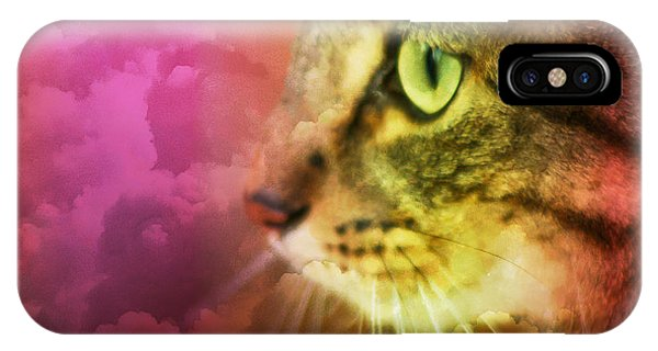 Fantasy Cat One IPhone Case