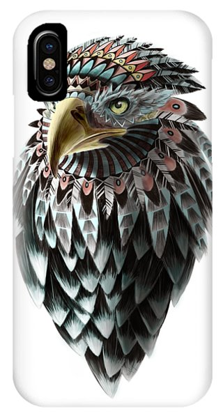 Egyptian iPhone X Case - Fantasy Eagle by Sassan Filsoof