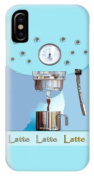 Fantasy Espresso Machine IPhone Case