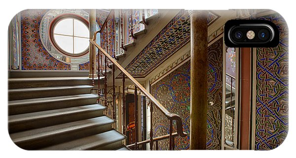Fantasy Fairytale Palace - The Stairs IPhone Case