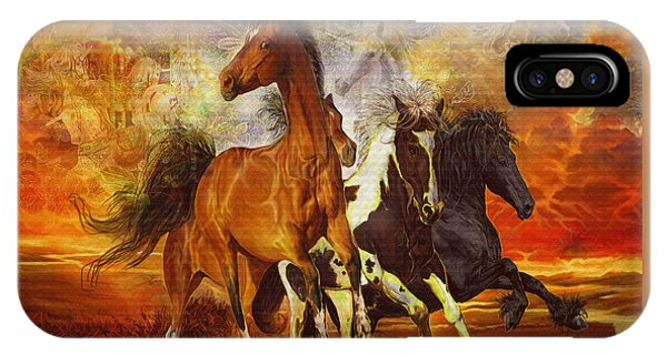 Fantasy Horse Visions IPhone Case