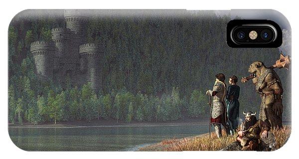 Fantasy Quest IPhone Case