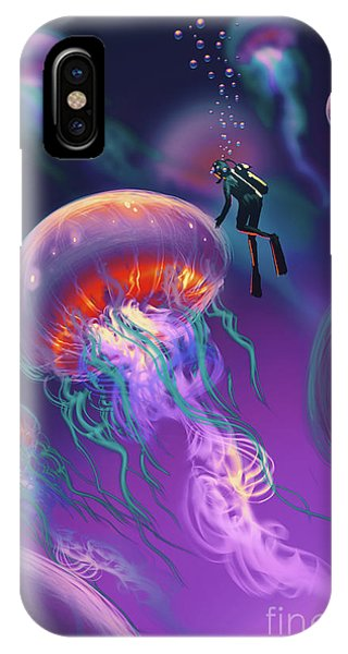 Fantasy Underworld IPhone Case