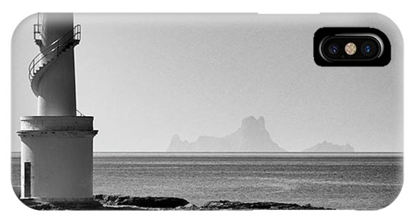 iPhone Case - Far De La Savina Lighthouse, Formentera by John Edwards
