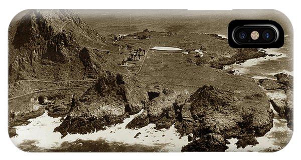 Farallon Island Lighthouse Pacific Ocean April 4, 1924 IPhone Case