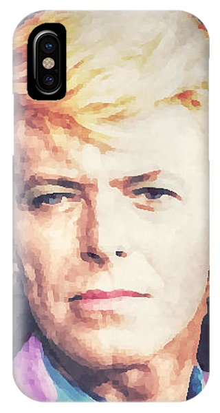 Farewell David Bowie IPhone Case
