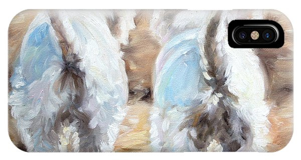 Sparrow iPhone Case - Farewell by Mary Sparrow