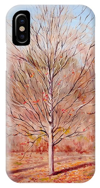 Farewell To Autumn IPhone Case