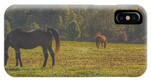 1012 - Fargo Road Horses I IPhone Case