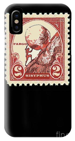 Rare iPhone Case - Fargo Series, The Stamp Of Sisyphus, Season 3, Episode 1 by Thomas Pollart