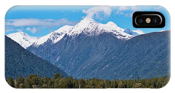 Farm And Mountains - New Zealand IPhone Case