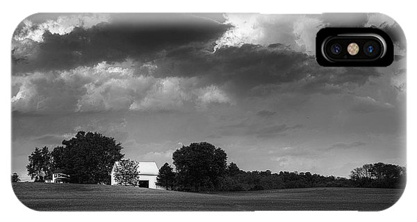 Farm Before The Storm IPhone Case
