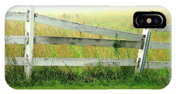 Farm Fence IPhone Case