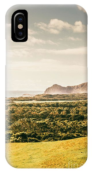 Stone Wall iPhone Case - Farm Fields To Seaside Shores by Jorgo Photography - Wall Art Gallery