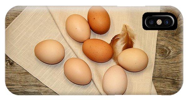 Farm Fresh Eggs IPhone Case