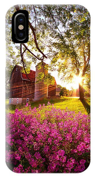 Amber iPhone Case - Farm Fresh by Phil Koch