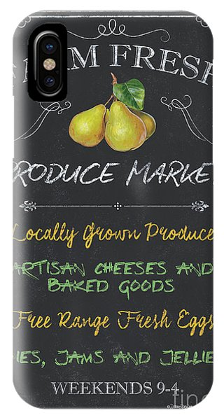 Organic Foods iPhone Case - Farm Fresh Produce by Debbie DeWitt