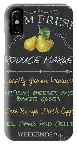 Market iPhone Case - Farm Fresh Produce by Debbie DeWitt