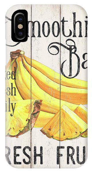 Banana iPhone Case - Farm Garden 2 by Debbie DeWitt