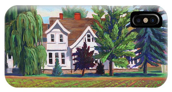 Farm House - Chinden Blvd IPhone Case