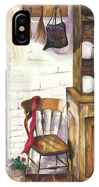 IPhone Case featuring the painting Farm House by Darren Cannell