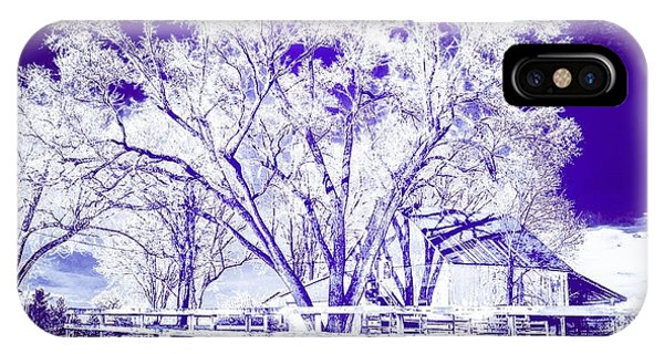 Farm In Suburbia With Wildcat Flare IPhone Case