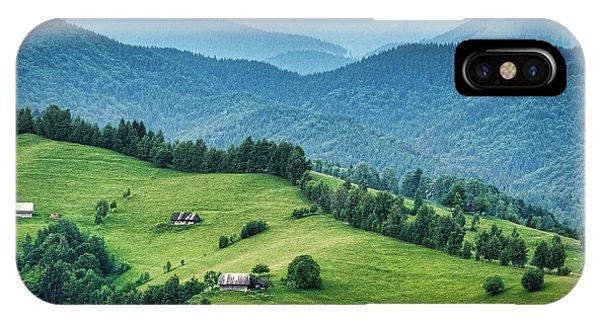 Farm In The Mountains - Romania IPhone Case
