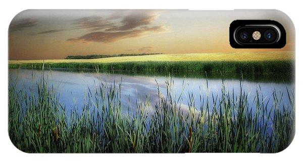 Farm Pond IPhone Case