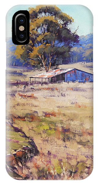 Farm Shed Pyramul IPhone Case