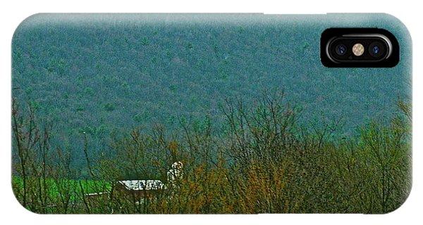 Farm Tucked Mountaintop  Phone Case by Debra     Vatalaro