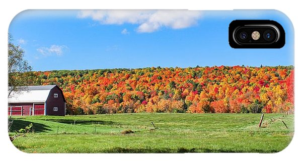 IPhone Case featuring the photograph Farm View From Russellville Road by Sven Kielhorn