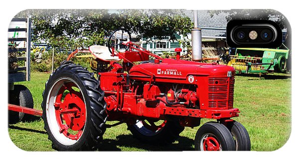 Farmall At The Country Fair IPhone Case