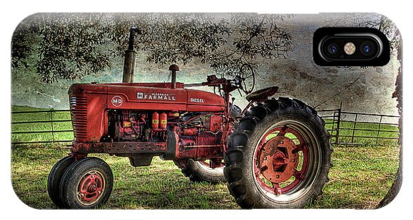 Farmall In The Field IPhone Case