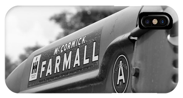 IPhone Case featuring the photograph Farmall by Rick Morgan