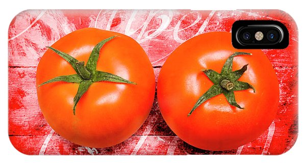 Market iPhone Case - Farmers Market Tomatoes by Jorgo Photography - Wall Art Gallery