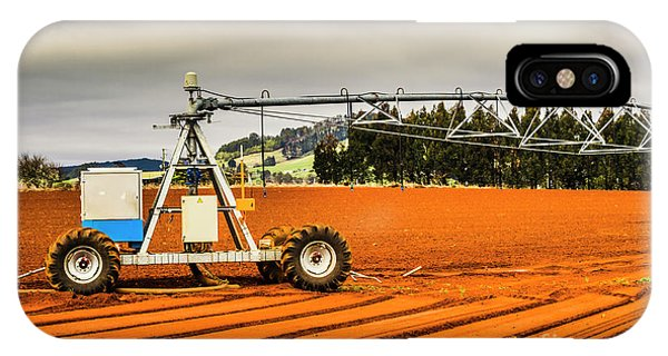 Industry iPhone Case - Farming Field Equipment by Jorgo Photography - Wall Art Gallery