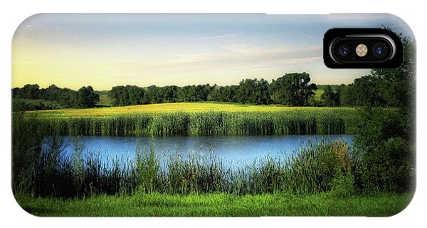Farmland Waters IPhone Case