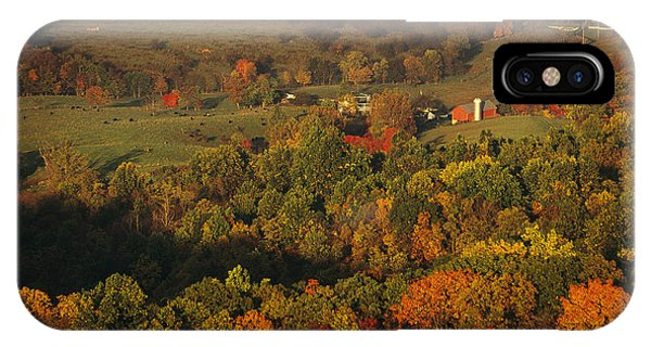 Farmlands And George Washington Natl IPhone Case