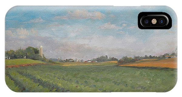 Farms And Fields Phone Case by Sandra Quintus