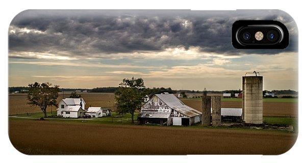 Farmstead Under Clouds IPhone Case