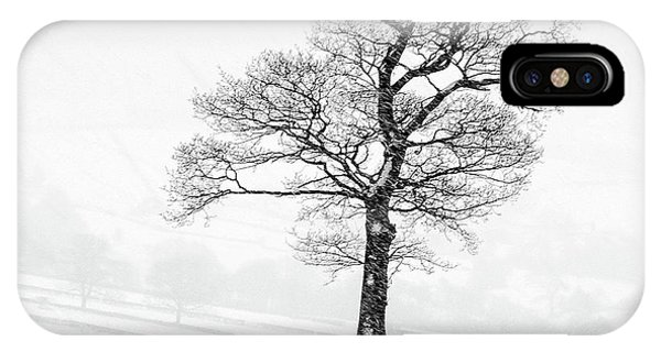 Farm iPhone Case - Farndale Winter by Janet Burdon