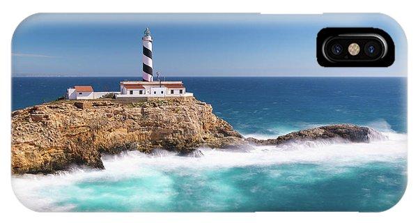 Faro Cala Figuera IPhone Case