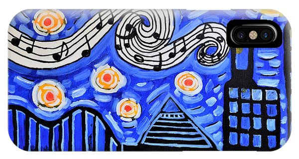 IPhone Case featuring the painting Memphis Nights by Christopher Farris