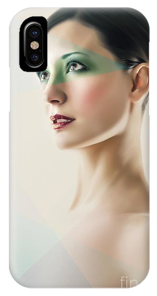 IPhone Case featuring the photograph Fashion Beauty Portrait by Dimitar Hristov