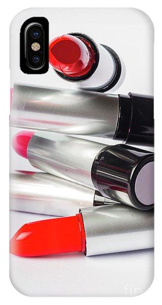 Fashion Model Lipstick IPhone Case