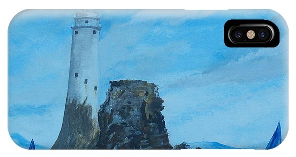 Fastnet Rock Lighthouse. IPhone Case
