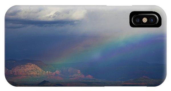 Fat Rainbow, Sedona Az IPhone Case