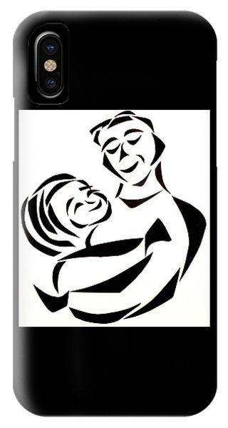 Father And Child IPhone Case