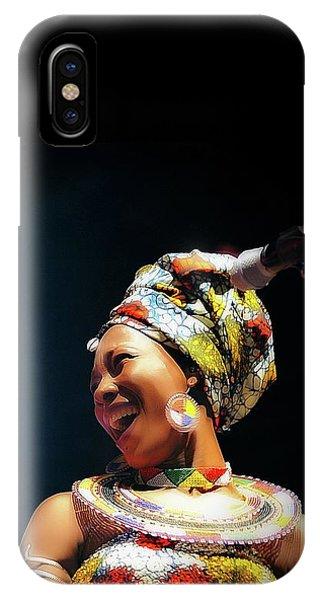 Fatoumata Diawara IPhone Case
